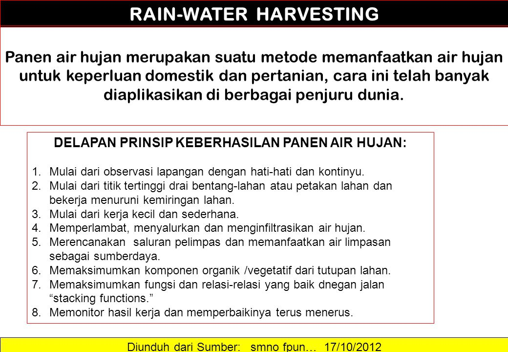 Diunduh dari Sumber: …..17/10/2012 RAIN GARDEN.