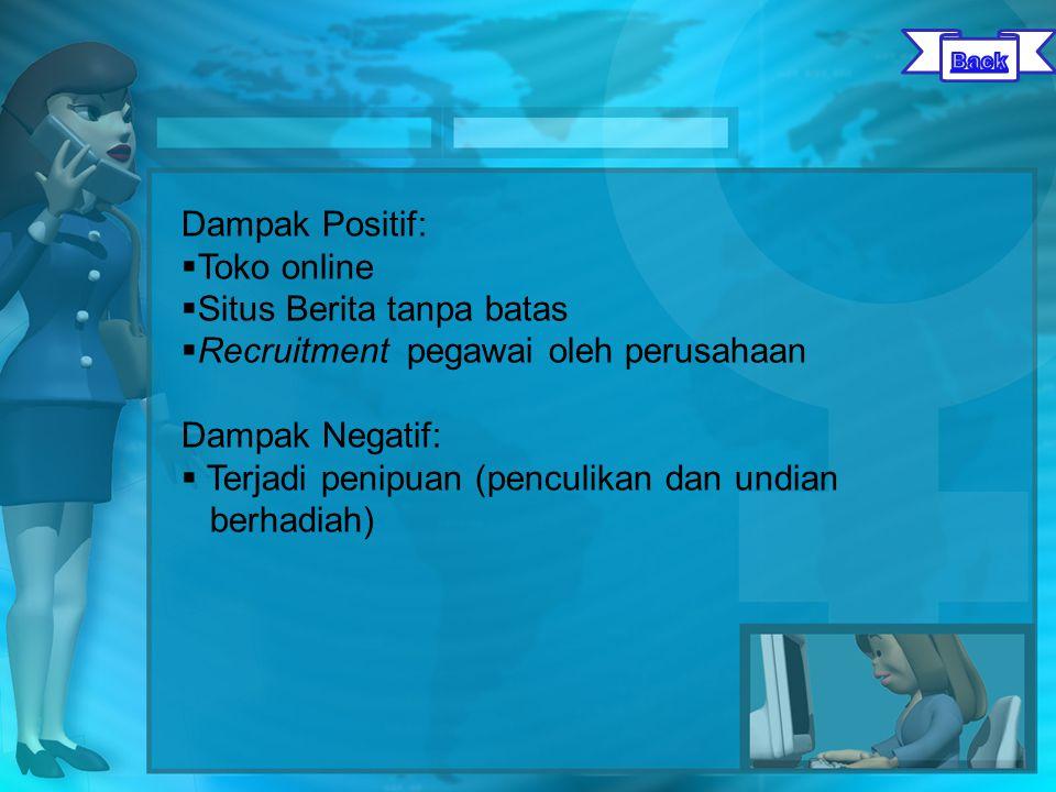 Website social Networking yang diikuti Kasus 3.