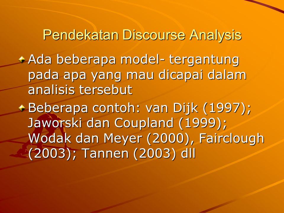 Conversational Maxims Quantity Maxims: Memberikan informasi yang cukup (sufficient).