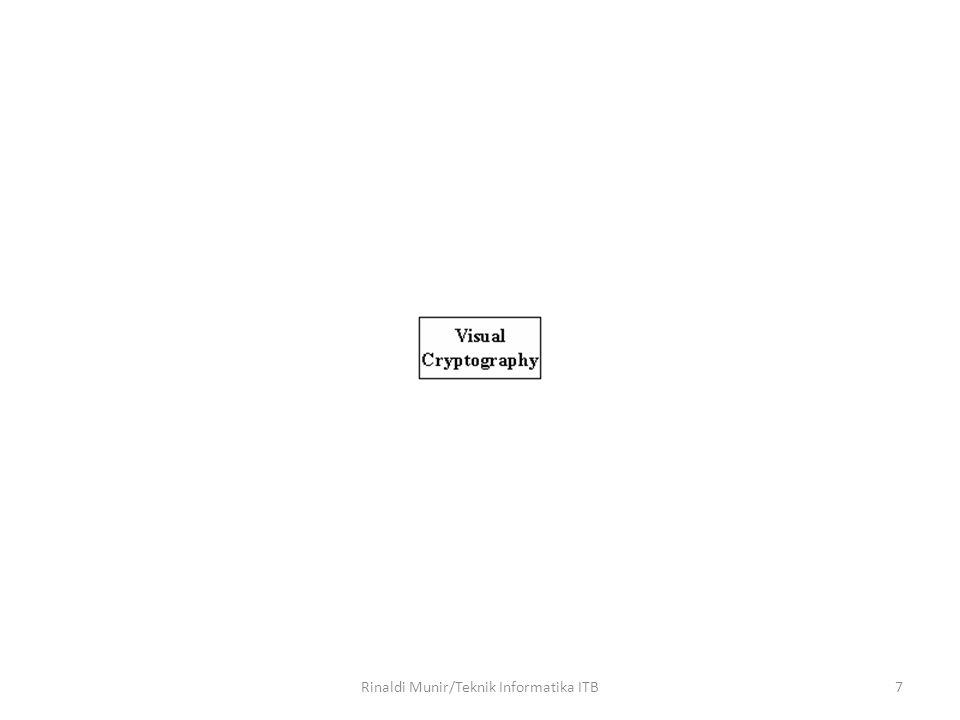 8 Plainteks Share 1 Share 2 Share 1 + Share 2 Rinaldi Munir/Teknik Informatika ITB
