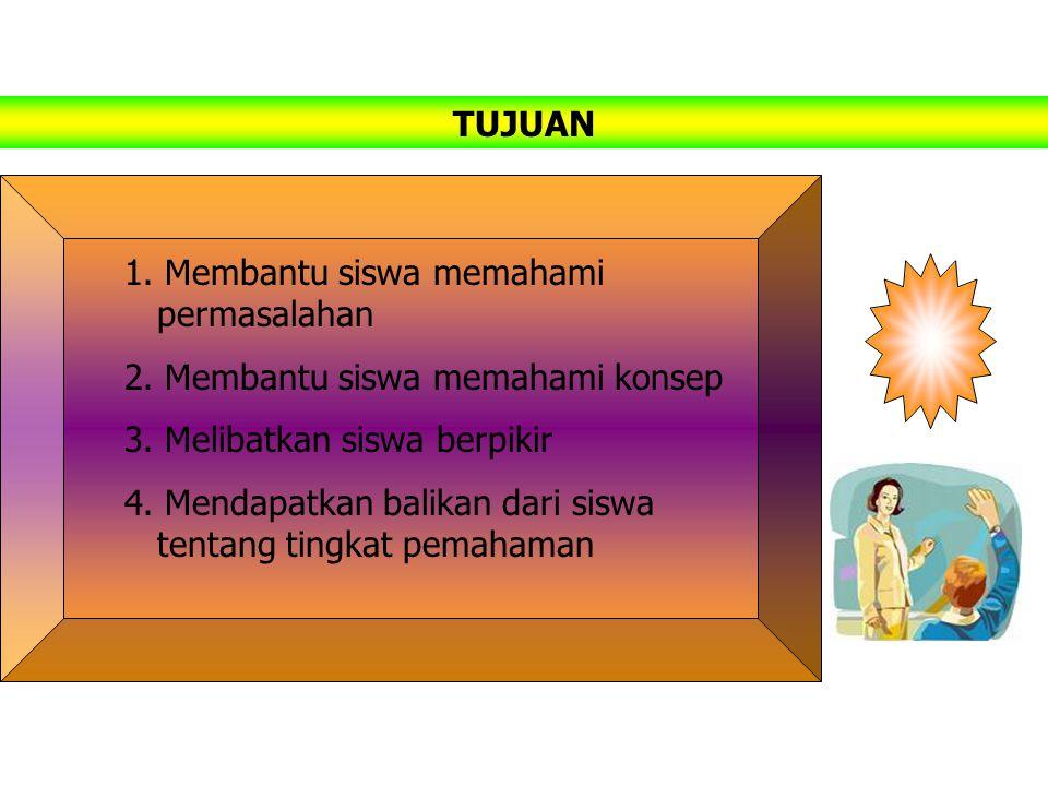 Menjelaskan adalah memberikan informasi yang diorganisasi secara sistematik kepada siswa