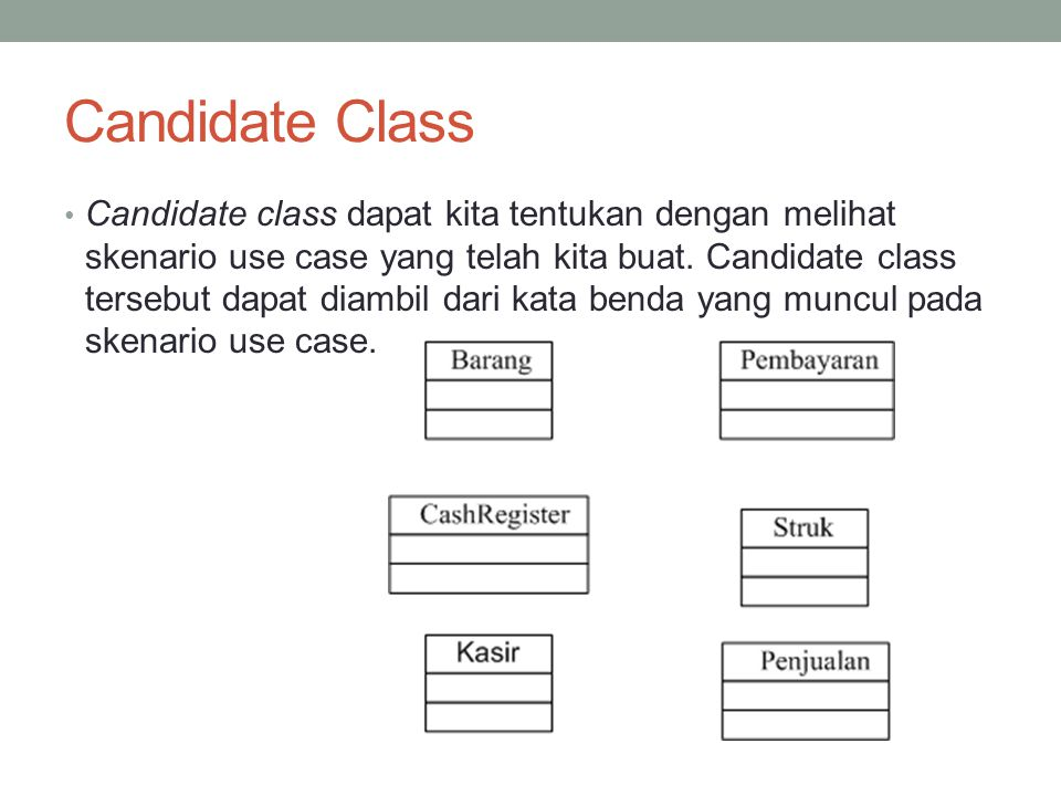Contoh sifat Class