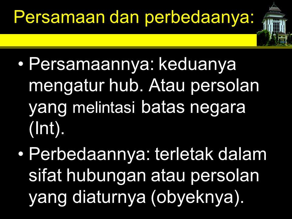 G.Hakekat dan fungsi kedaulatan negara dlm masyarakat Int.