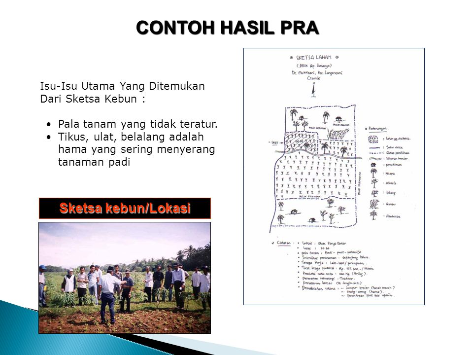 Isu –Isu Utama Dari Alur Sejarah : PPL mulai masuk desa pada tahun 1973.
