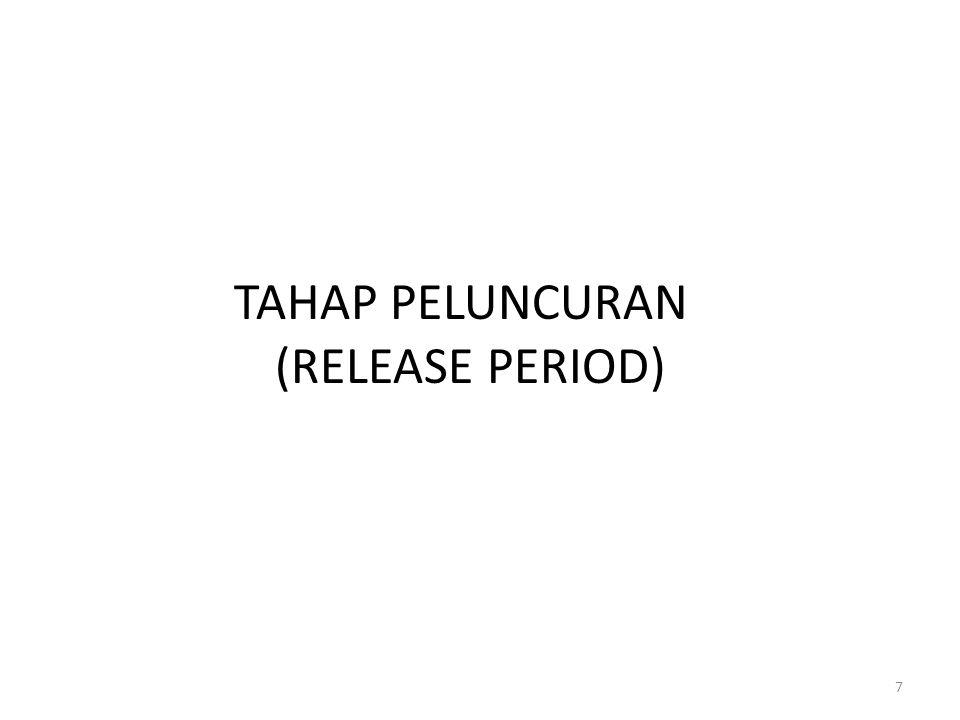 TAHAP PELUNCURAN (RELEASE PERIOD) 7