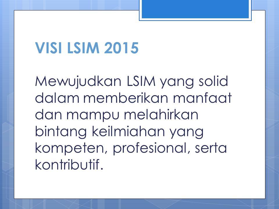 Lembaga secara semi otonom memiliki ranah kerja di bidang keilmiahan Fakultas Kedokteran Universitas Brawijaya. LSIM berperan menghidupkan iklim berpi