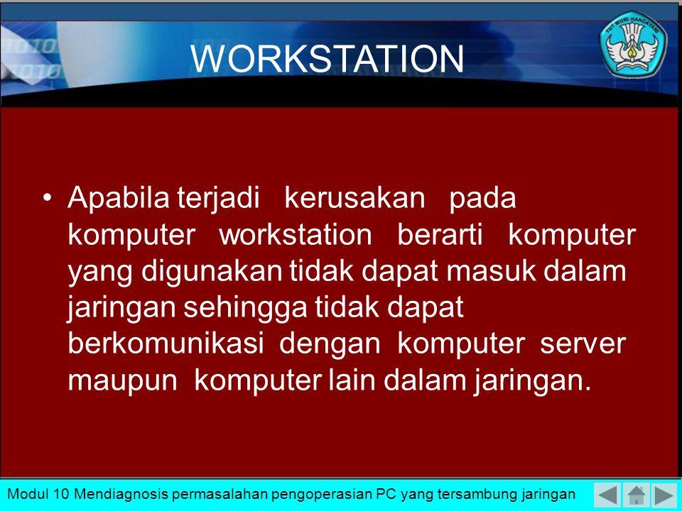 Apabila komputer server mengalami kerusakan atau gangguan secara otomatis seluruh jaringan tidak berfungsi karena server merupakan pintu masuk dan seb
