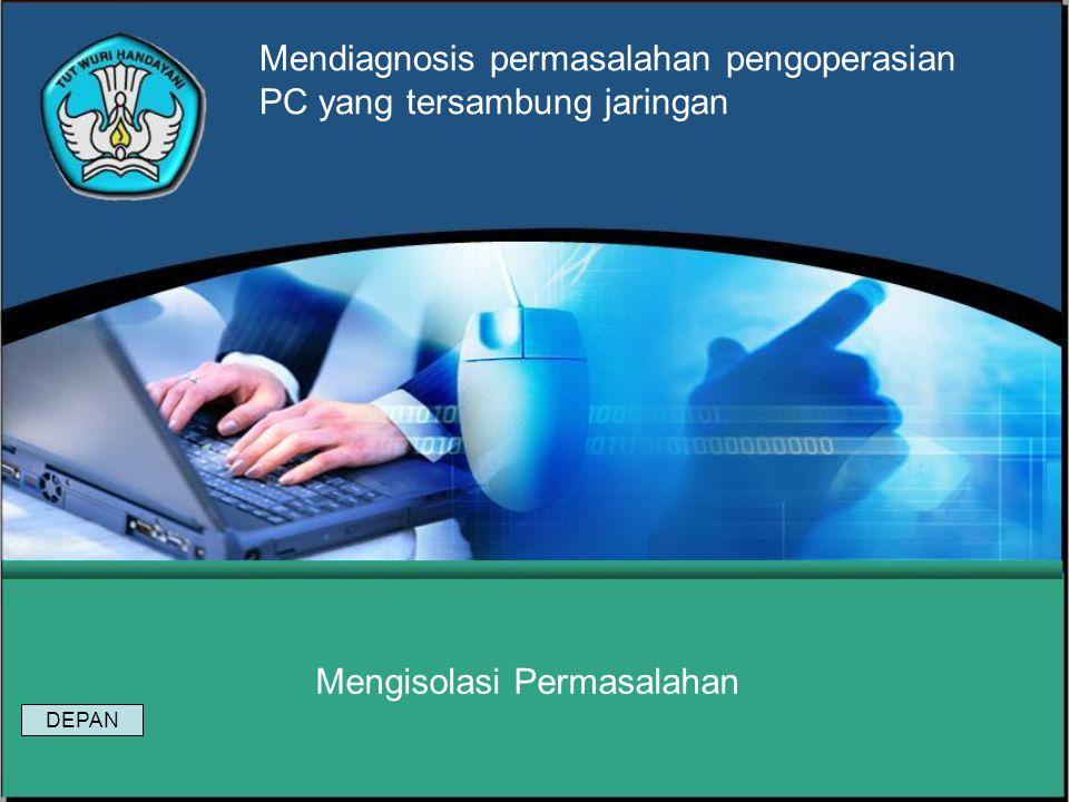 Modul 10 Mendiagnosis permasalahan pengoperasian PC yang tersambung jaringan SOAL 1.Apakah ada kesamaan dan perbedaan fungsi antara HUB, Repeater, Bri