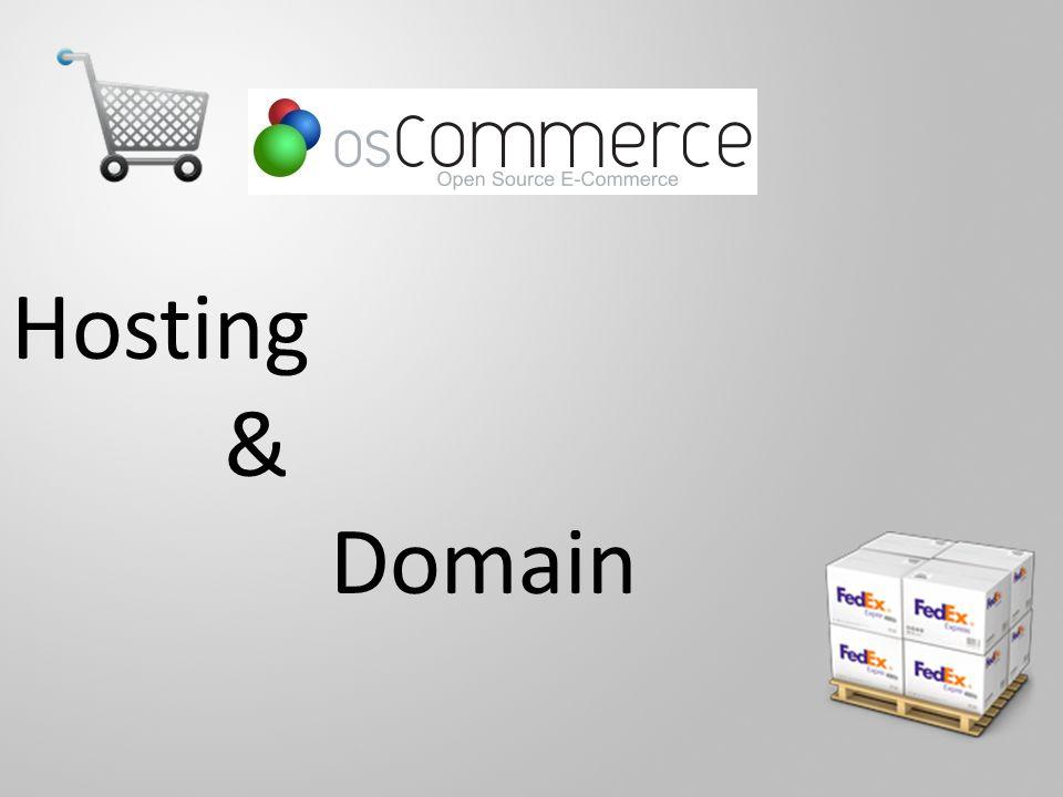 Hosting & Domain
