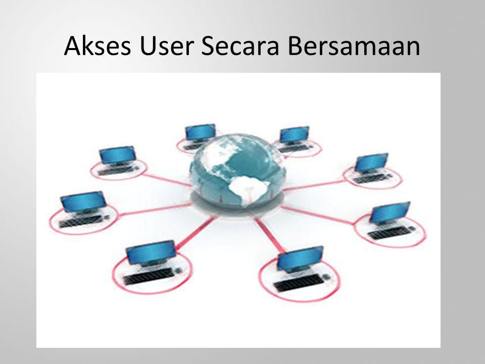 Akses User Secara Bersamaan