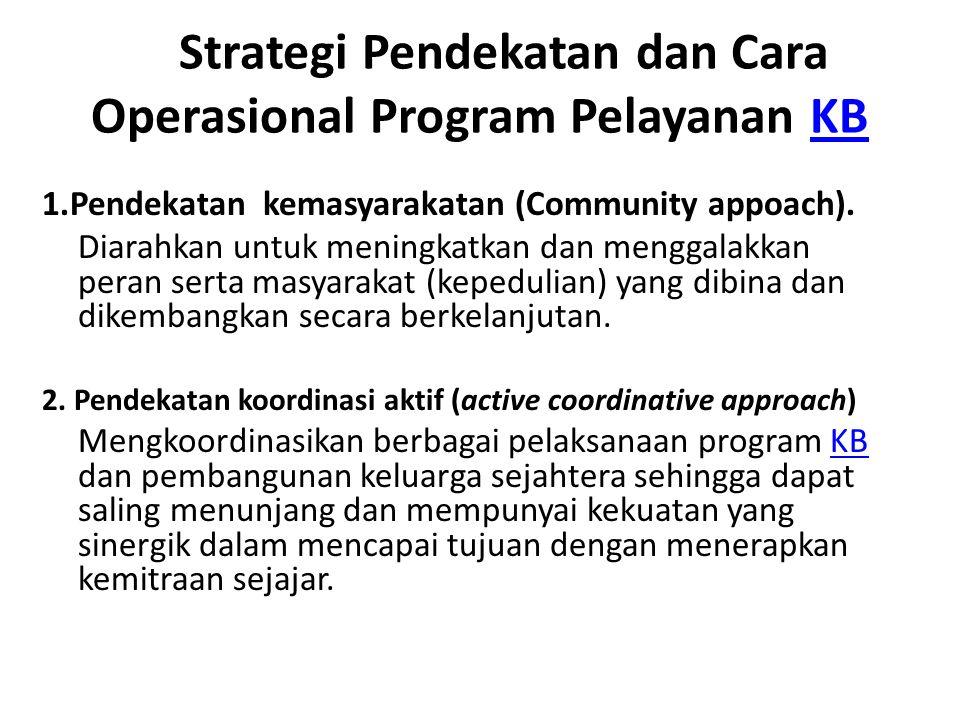 Lanjutan…… 3.Pendekatan integrative(Integrative approach).