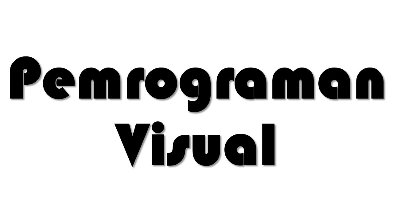 Visual Programming Language Bahasa pemrograman yang memungkinkan pengguna membuat program dengan memanipulasi unsur-unsur program grafis daripada dengan menentukannya secara tekstual.