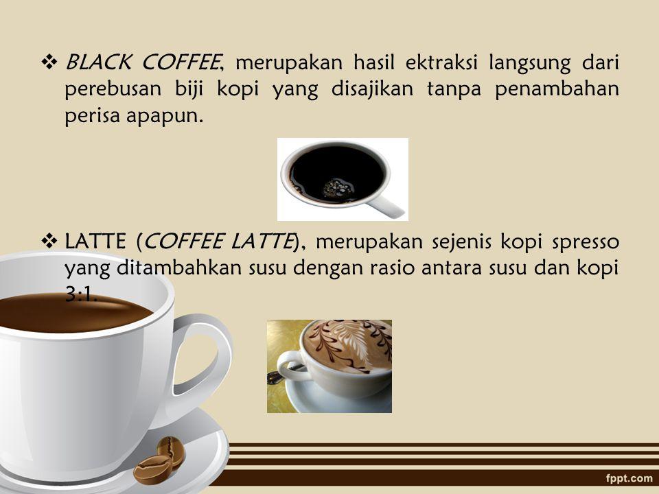Berikut akan kami sajikan beberapa produk yang akan kami hadirkan di Coffe Shop kami :  ESPRESSO, merupakan kopi yang dibuat dengan mengekstraksi bij
