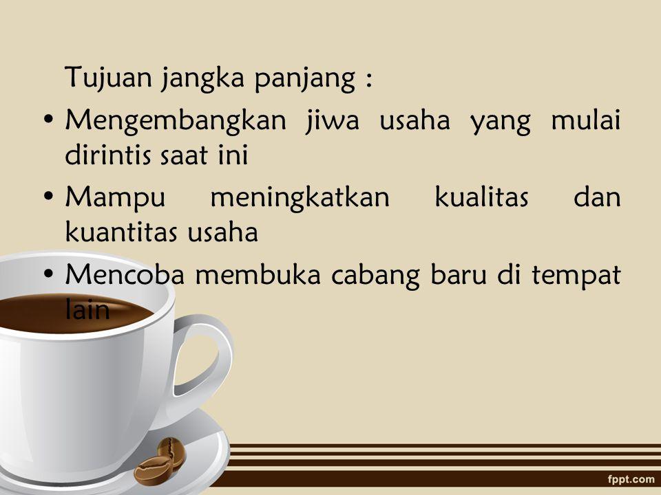  RisrettoRp 10.000,-  ESPRESSO Rp 12.000,-  Black CoffeeRp 5.000,-  Cold EspressoRp 15.000,-  Ice Blended EspressoRp 15.000,-  Caramel Blended EspressoRp 15.000,-  Cappuccino FoamRp 7.000,-  CappuccinoRp 6.000,-  Cafe LatteRp 10.000,-  Afogatto Rp 15.000,-