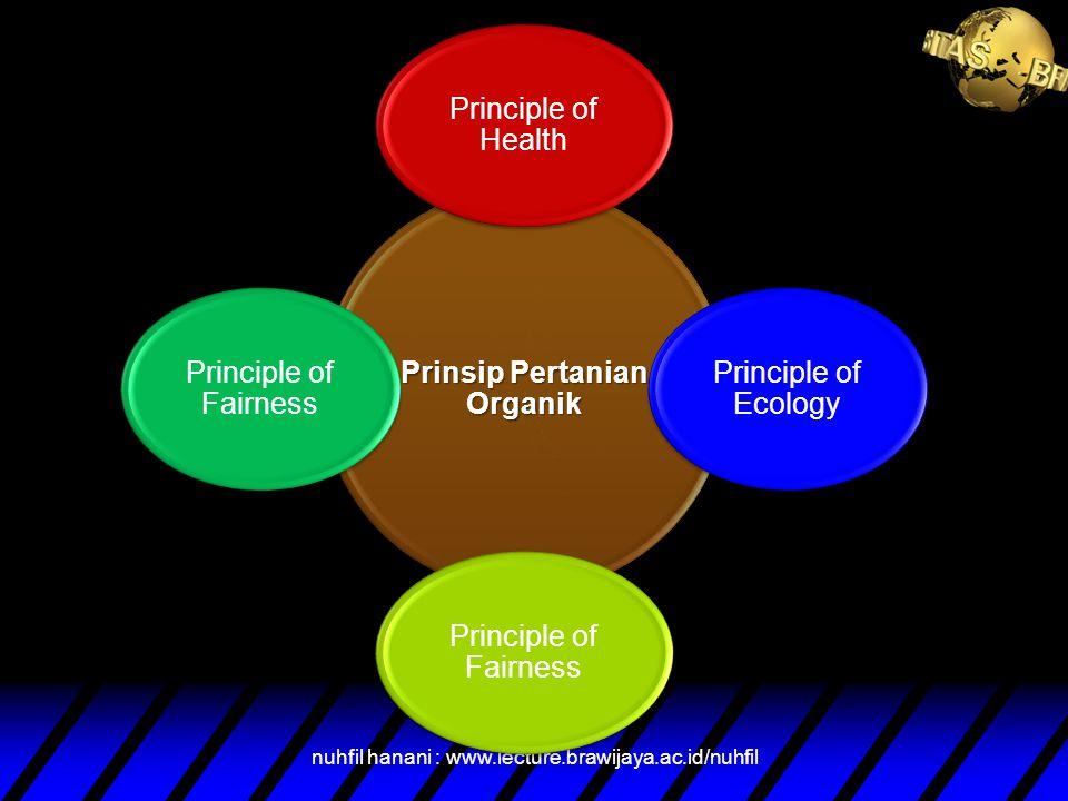 Pertanian Organik adalah sebuah sistem produksi yang menjaga kesehatan tanah, ekosistem, dan manusia ( IFOAM, 2008) DEFINISI PERTANIAN ORGANIK