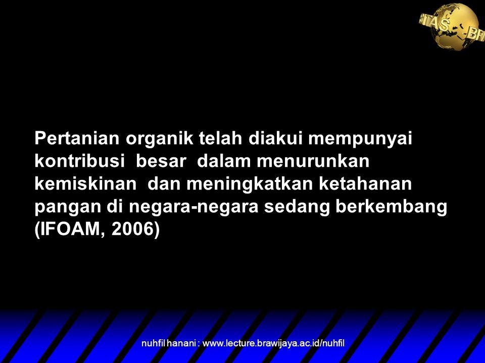 nuhfil hanani : www.lecture.brawijaya.ac.id/nuhfil Mengapa Baru Tahun 2011 menjadi Isu Kita ?