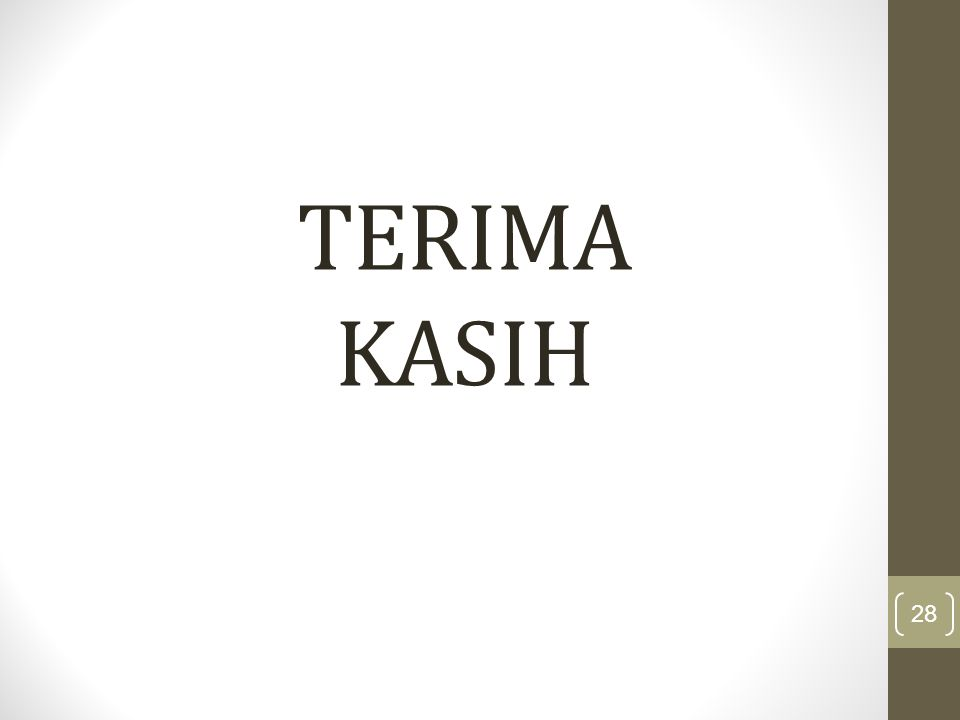 TERIMA KASIH 28