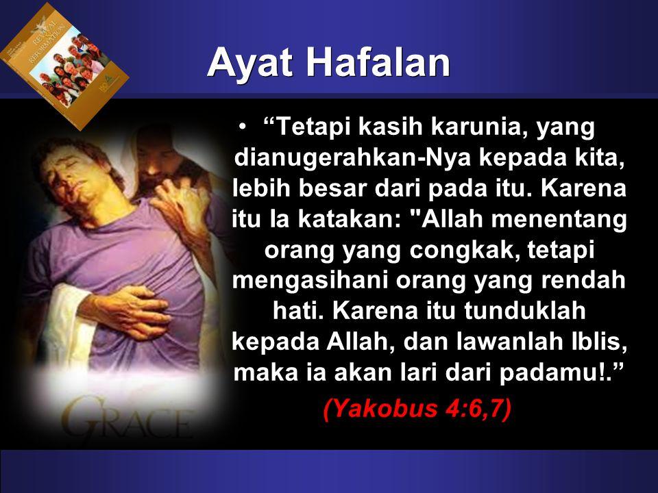 """""""Tetapi kasih karunia, yang dianugerahkan-Nya kepada kita, lebih besar dari pada itu. Karena itu Ia katakan:"""