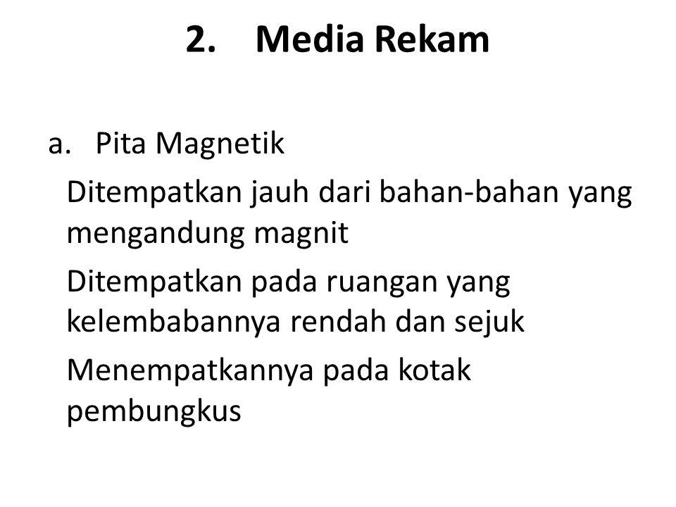 2.Media Rekam a.