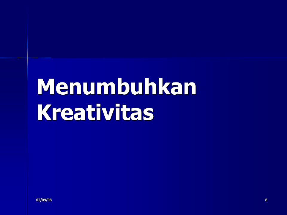 02/09/088 Menumbuhkan Kreativitas