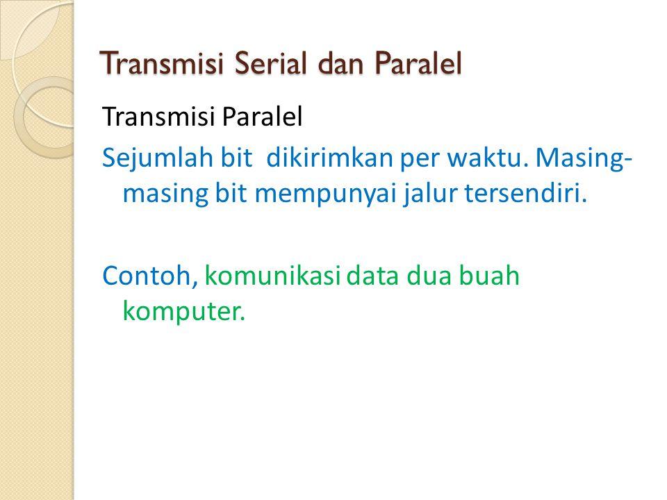 Media tak Berkabel (Gelombang Radio) - Dapat digunakan untuk mengirimkan suara atau data melalui udara.