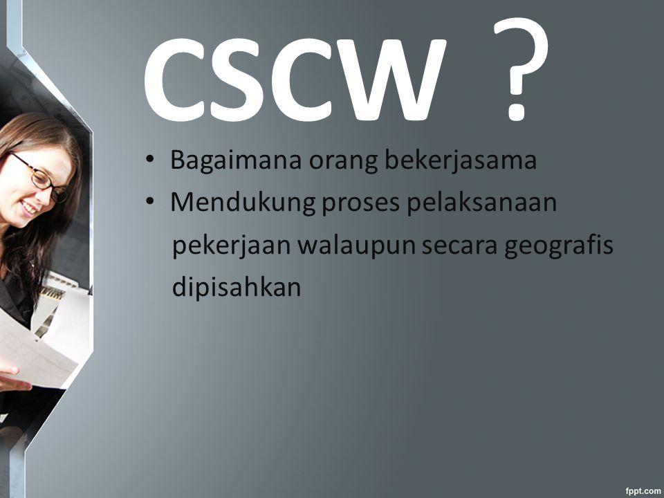 CSCW .