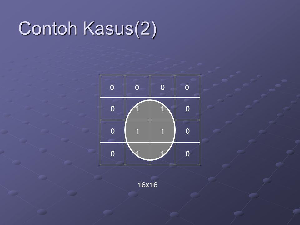 Contoh Kasus(2) 00 0 0 0 0 0 0 0 0 1 1 1 1 1 1 16x16