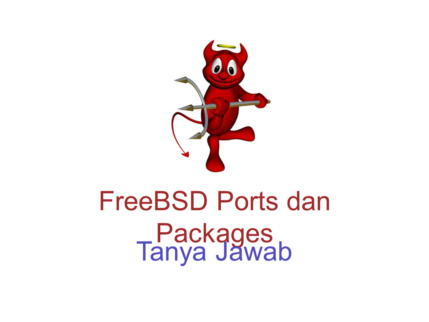 FreeBSD Ports dan Packages Tanya Jawab