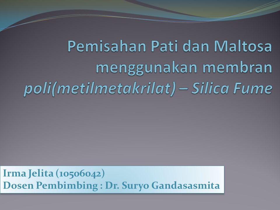 Irma Jelita (10506042) Dosen Pembimbing : Dr. Suryo Gandasasmita Irma Jelita (10506042) Dosen Pembimbing : Dr. Suryo Gandasasmita