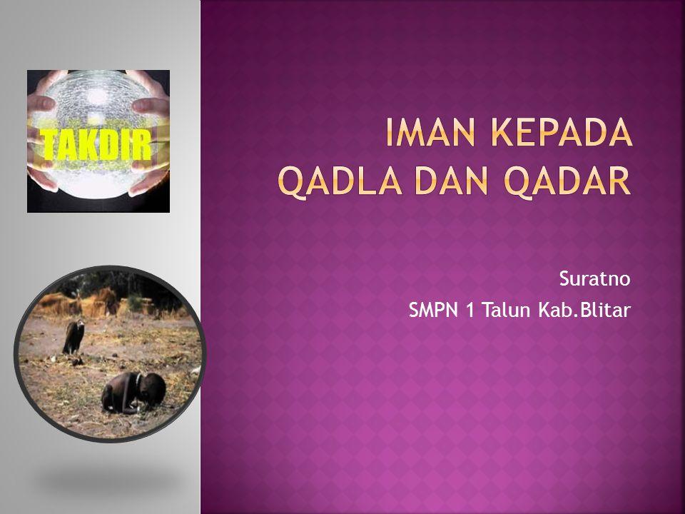 Suratno SMPN 1 Talun Kab.Blitar