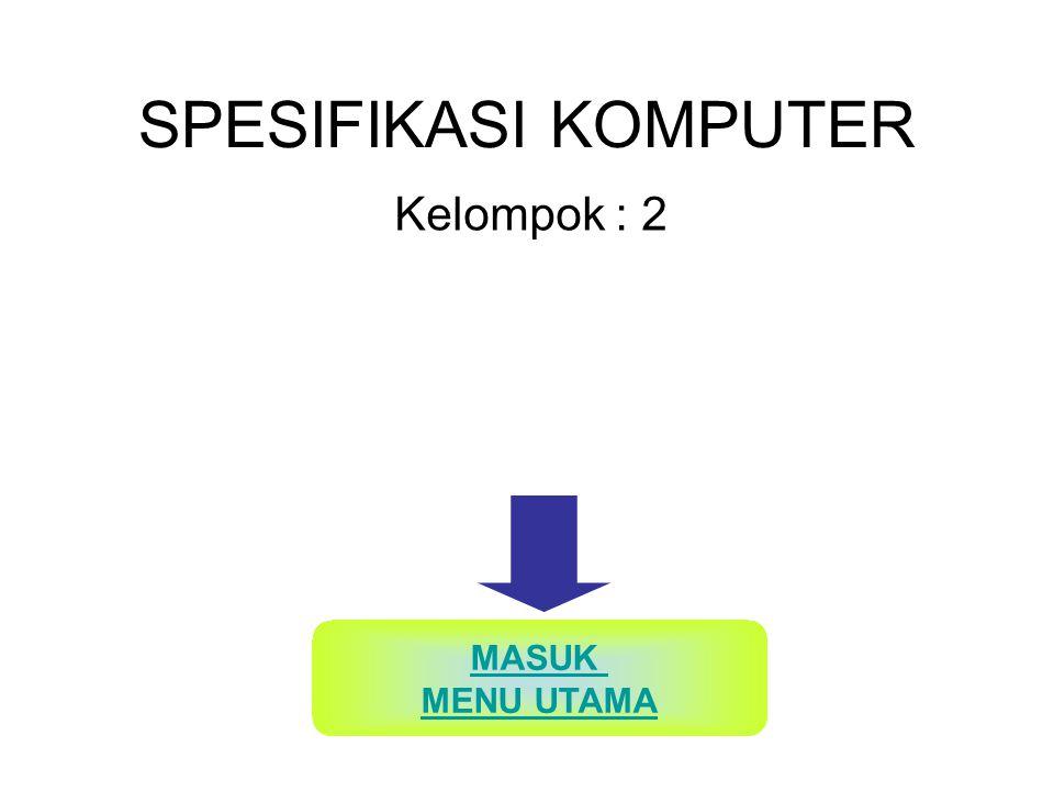SPESIFIKASI HARDWARE SERVER Processor Intel Core i7-920, 21 x multiplier (2.67Ghz) Mother Board ASUS_P6X58D_Pre mium_Motherboard for core i7 KEMBALI KE MENU UTAMA N E X T