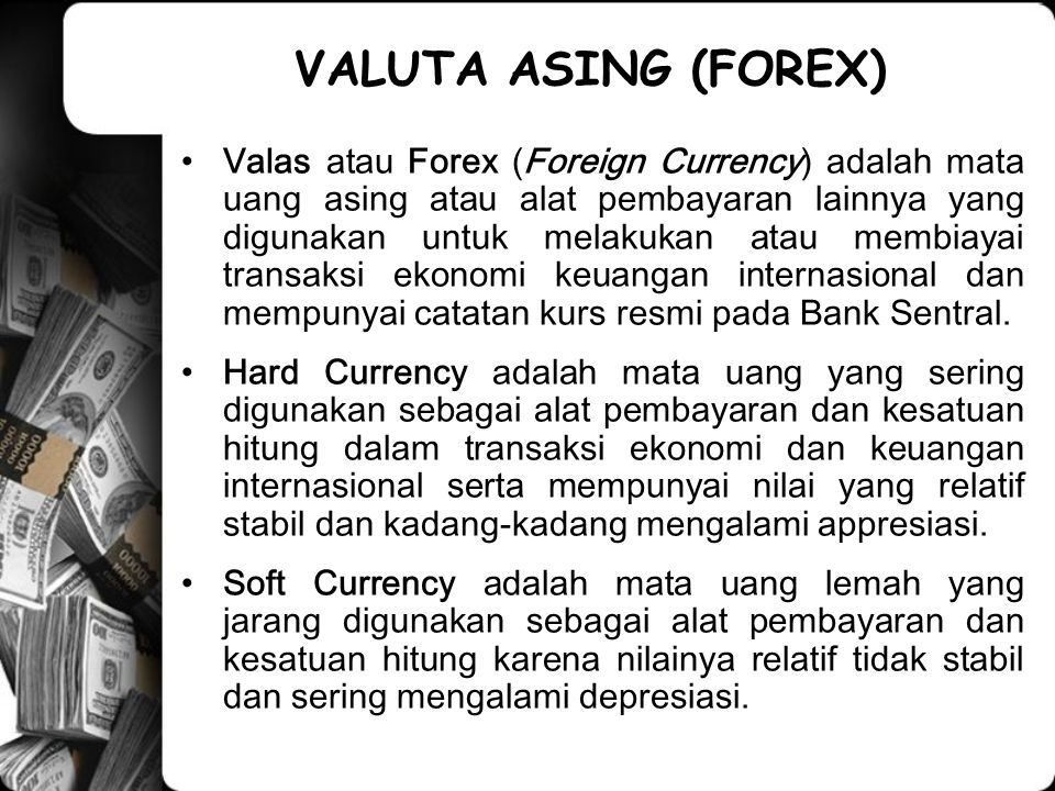 ◙Ketentuan Pokok tentang COM a.l; ◙Suatu currency option yang exercise price-nya sama dengan dengan spot price disebut at the money.