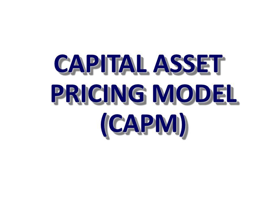 Penerapan CAPM pada Proyek Di bawah ini ada 2 proyek yang sedang dipertimbangkan masing-masing dengan investasi Rp.