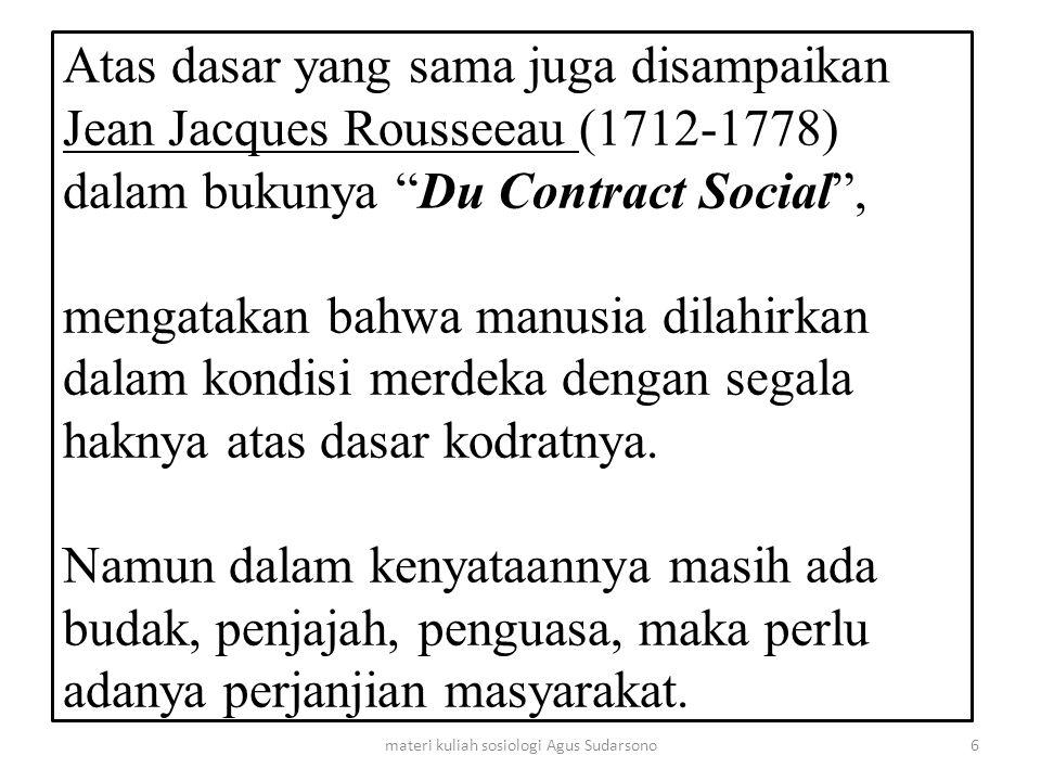 Dalam perkembangannya definisi Sosiologi sangat luas, sehingga sangat sukar untuk memberikan yang pasti.
