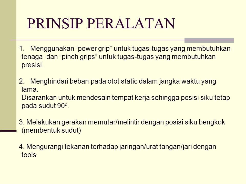 PRINSIP PERALATAN 1.