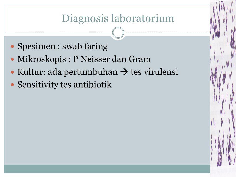 Pseudomembran Terutama Anak kecil  Obstruksi pernaf Eksudat putih-kotor di seluruh tonsil & inflamasi + pembengakkan lokal 13