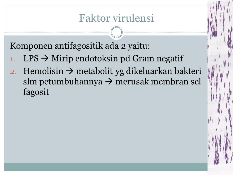 Gambar: (a, b). Pewarnaan Gram, (c). Kultur L. monocytogenes (a) (b) (c)