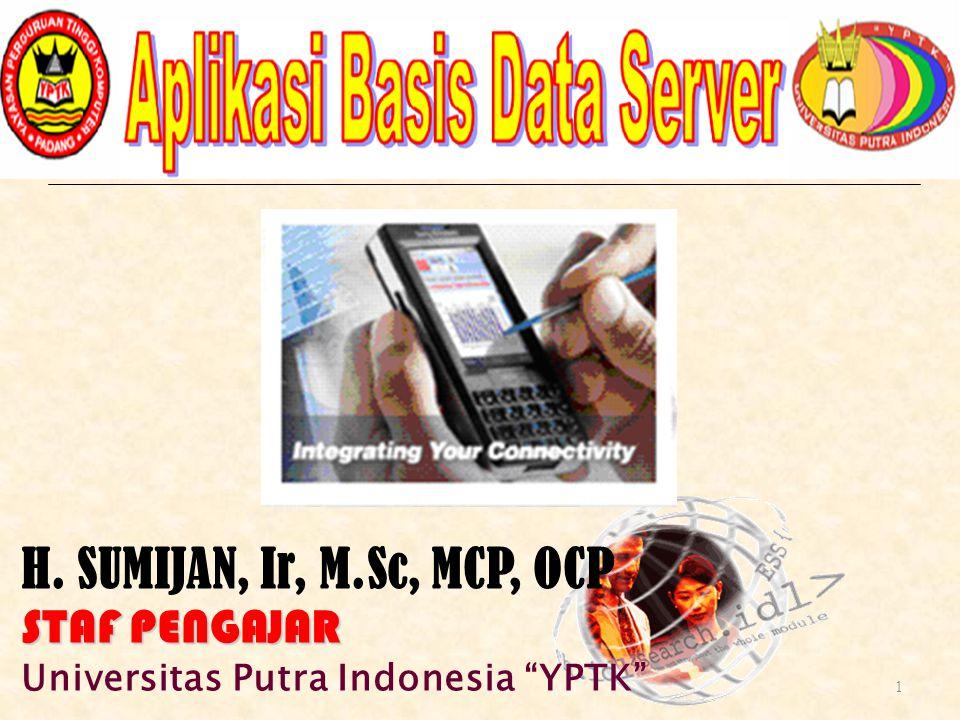 select t1.NPM, Nama_Mhs, t2.Kode_MTK, Nama_MTK, Sks, NA from mahasiswa t1, matakuliah t2, nilai t3 where t1.npm=t3.npm and t2.Kode_MTK=t3.Kode_MTK and t1.NPM in ( 20042321001 ); ----------------------------------------------------------------------------------------- select t1.NPM, Nama_Mhs, t2.Kode_MTK, Nama_MTK, Sks, NA from mahasiswa t1, matakuliah t2, nilai t3 where t1.npm=t3.npm and t2.Kode_MTK=t3.Kode_MTK and t1.NPM between 20042321001 and 20042321004 ; ----------------------------------------------------------------------------------------- select t1.NPM, Nama_Mhs, t2.Kode_MTK, Nama_MTK, Sks, NA from mahasiswa t1, matakuliah t2, nilai t3 where t1.npm=t3.npm and t2.Kode_MTK=t3.Kode_MTK and t1.NPM >= 20042321003 Cont.
