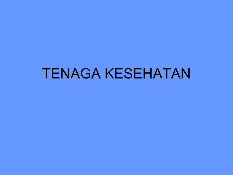 TENAGA KESEHATAN