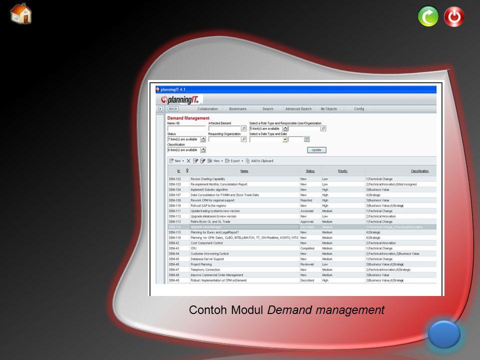 Contoh Modul Demand management
