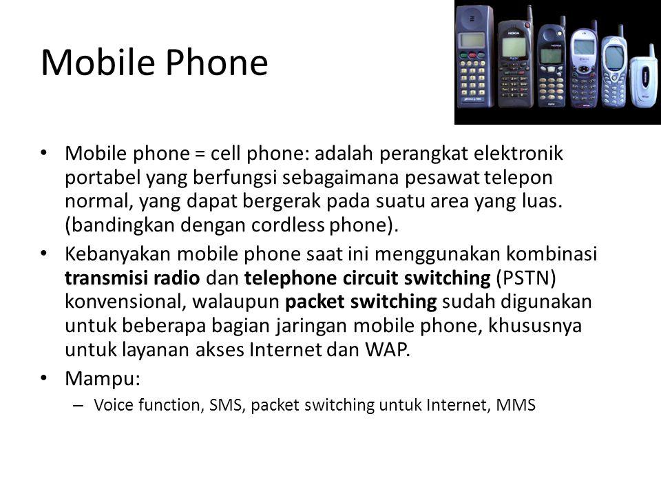 Operator Selular Indonesia AMPS – Komselindo GSM – Telkomsel – Satelindo – Excelcom GPRS –Telkomsel –Satelindo –Excelcom CDMA –Telkom Flexy –Indosat StarOne –Bakrie Telko Esia –Mobile-8 Fren