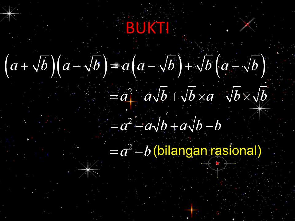 BUKTI (bilangan rasional)