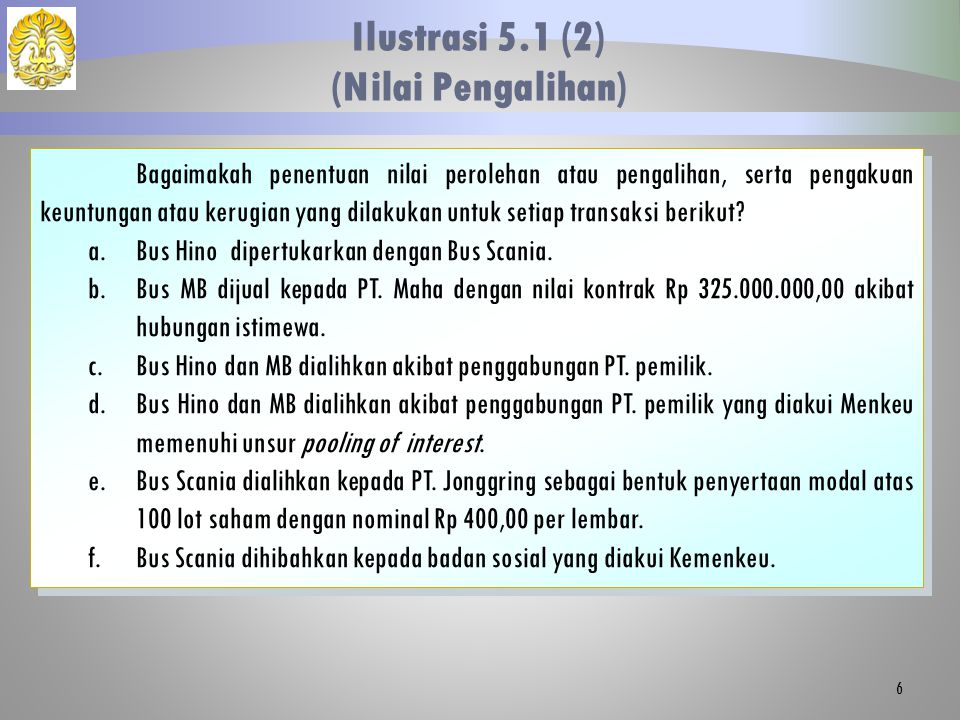 Jawaban: a.Nilai perolehan= Nilai Wajar= Rp 425.000.000,00 PT.