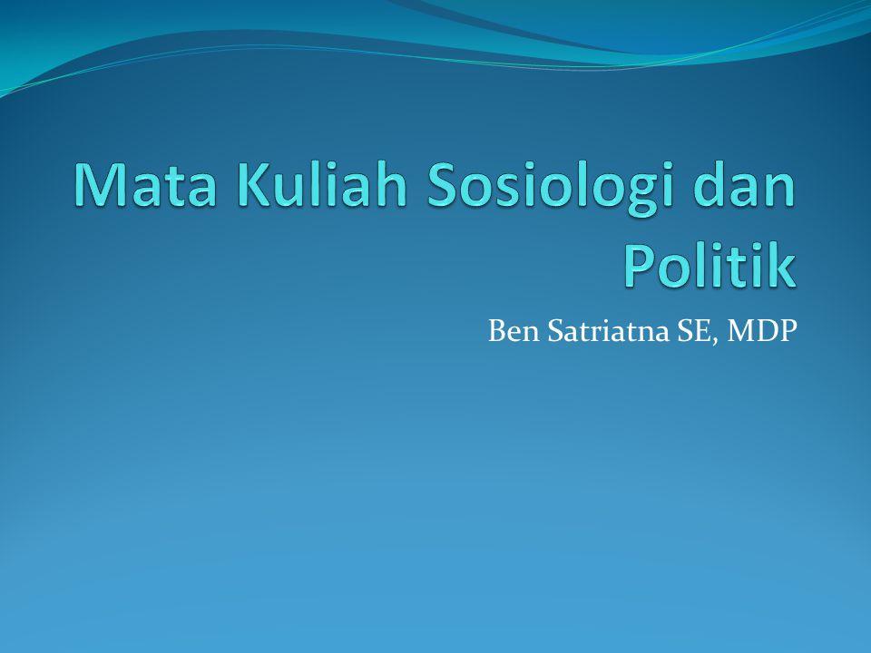 Ben Satriatna SE, MDP