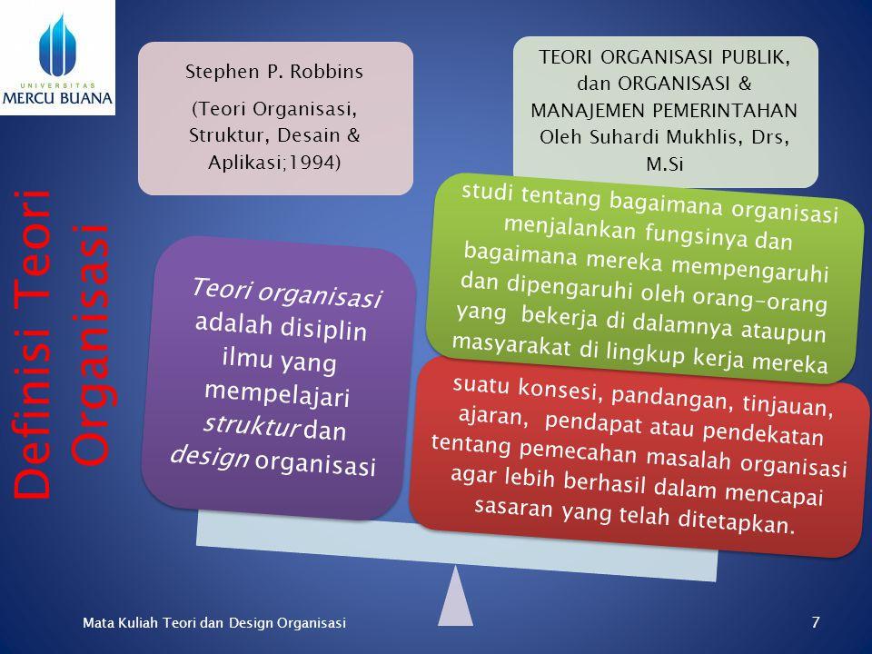 Tingkat Kepastian Struktur Organisasi Formal Organisasi Informal Keterlibatan Emosi Organisasi Primer Organisasi Sekunder Tujuan Organisasi Pengabdian