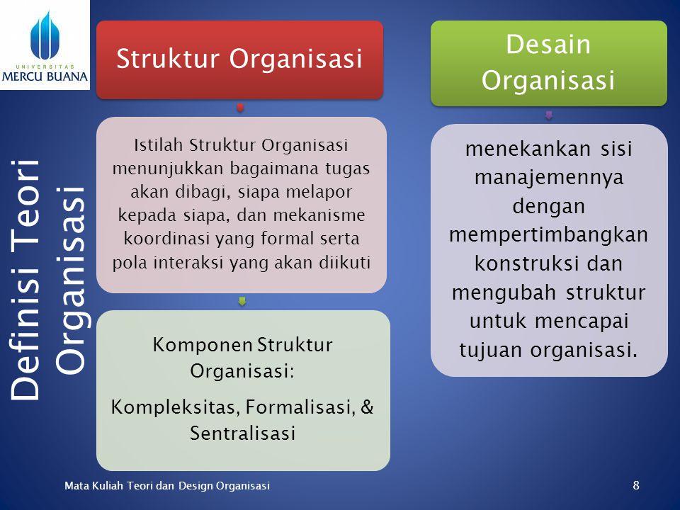 Stephen P. Robbins (Teori Organisasi, Struktur, Desain & Aplikasi;1994) TEORI ORGANISASI PUBLIK, dan ORGANISASI & MANAJEMEN PEMERINTAHAN Oleh Suhardi