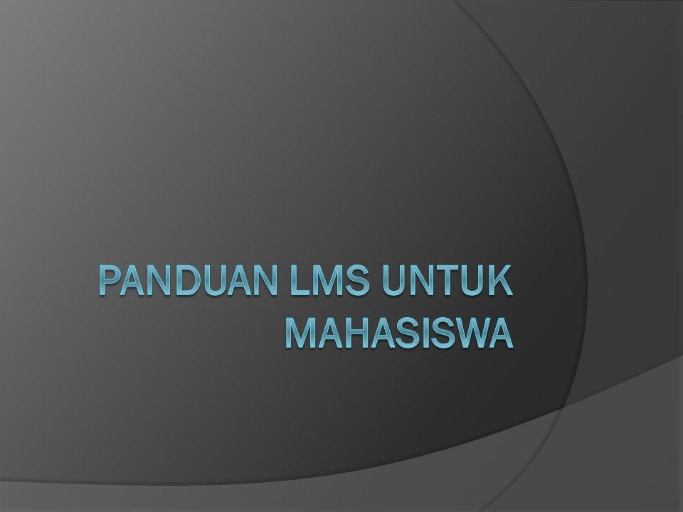 Apa itu LMS.LMS = Learning Management System.