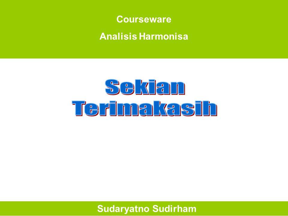 Courseware Analisis Harmonisa Sudaryatno Sudirham