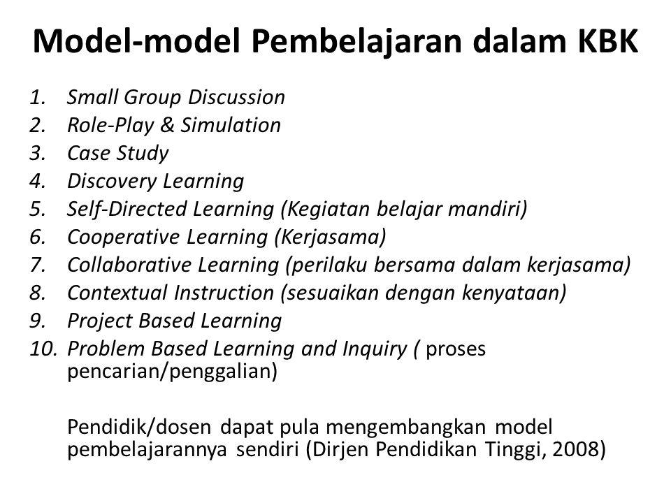 Pustaka Tantra Dewa, Komang.(2009). Kurikulum Berbasis Kompetensi.