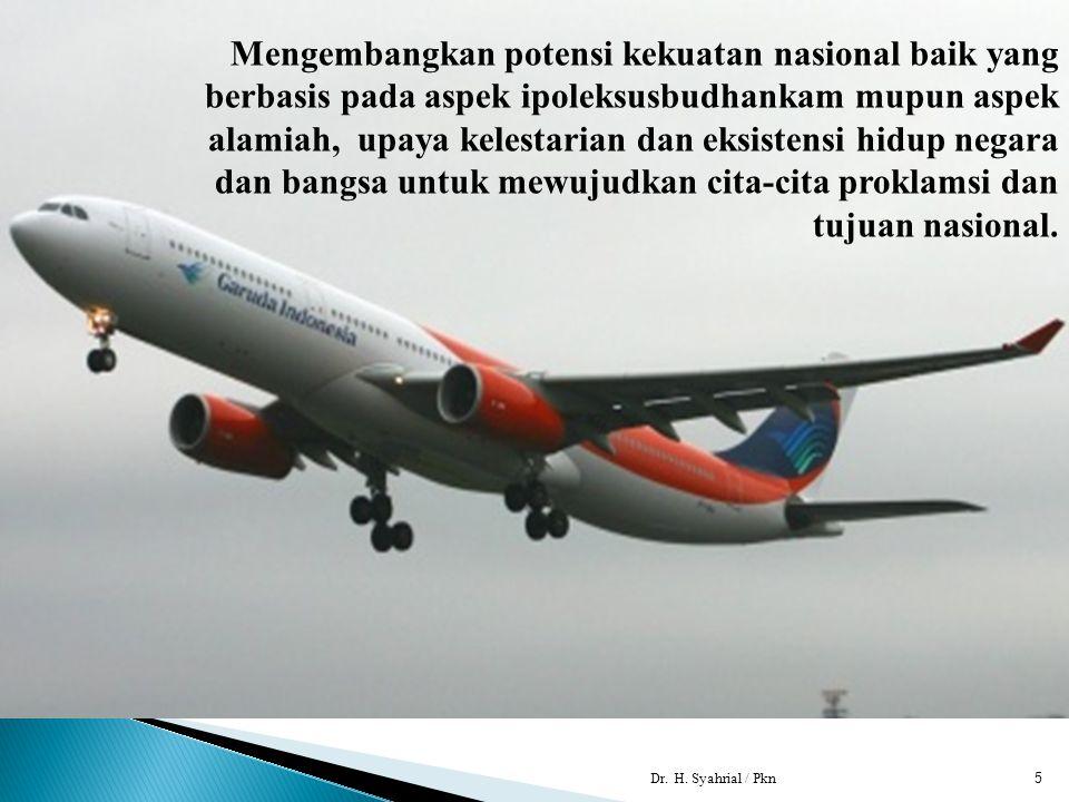 LEMBAGA KETAHANAN NASIONAL REPUBLIK INDONESIA  KONDISI DINAMIS BANGSA.